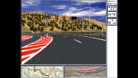 Egnatia motorway. Detailed Simulation