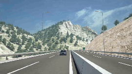 Crete Intl. Airport access highway